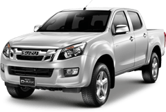Isuzu D-MAX Double Cab Two Seater