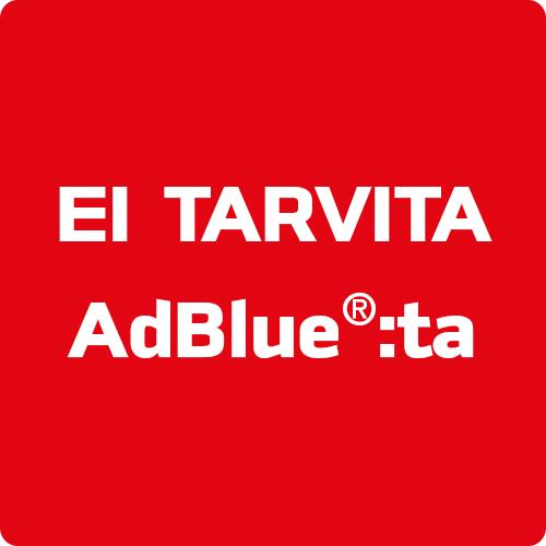 Ei tarvetta AdBlue lisäaineelle