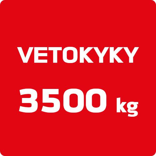 Markkinoiden paras vetokyky 3500 kg